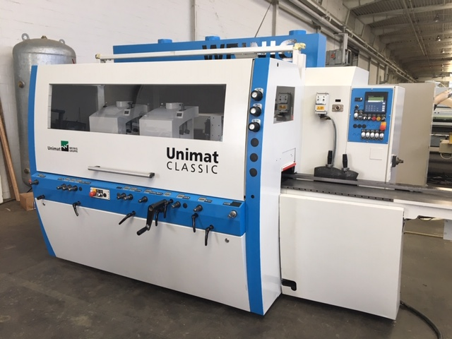 Four-side moulder Weinig, Type UNIMAT 500 Classic , year of